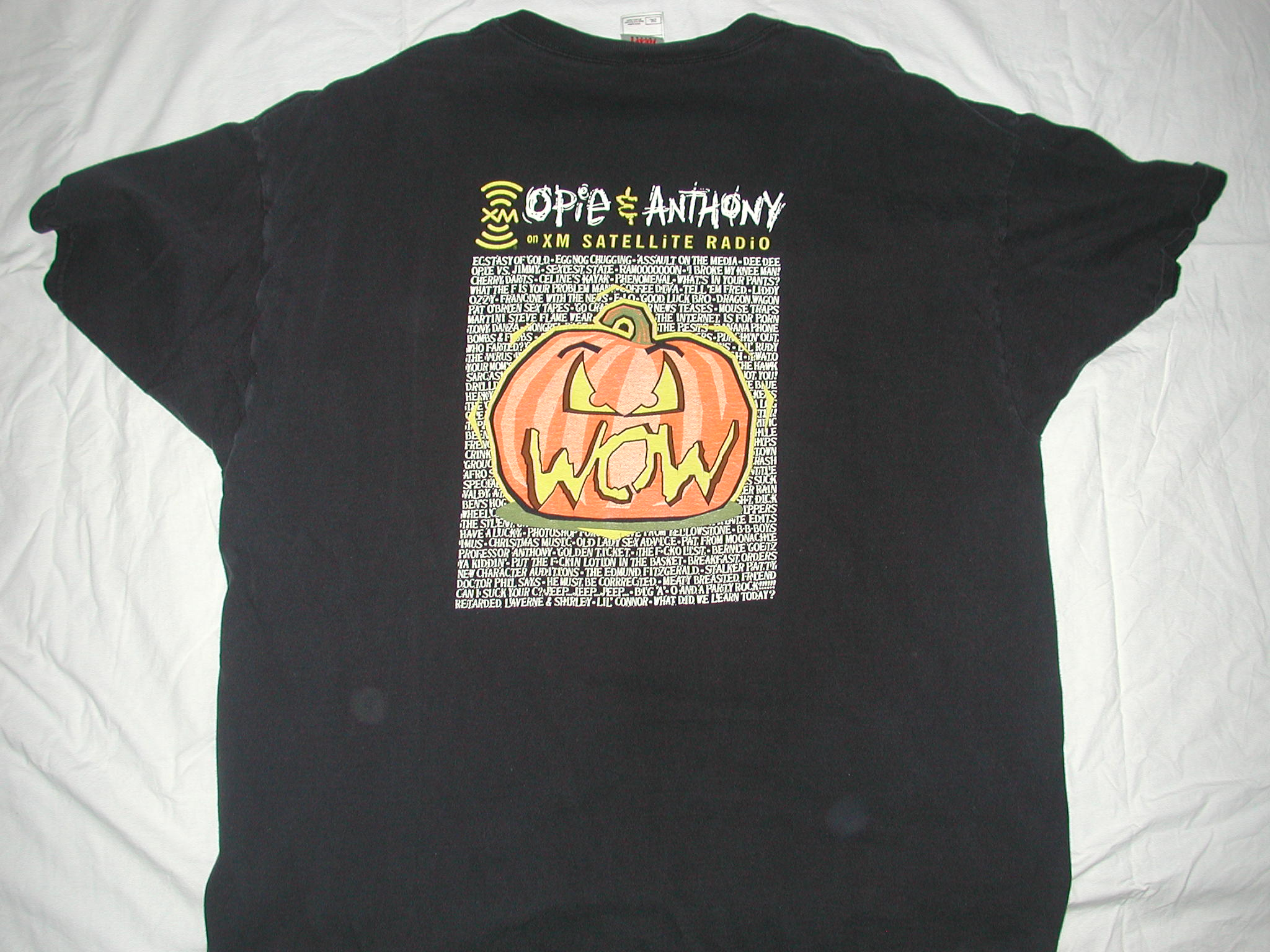 classic opie and anthony t-shirts for sale