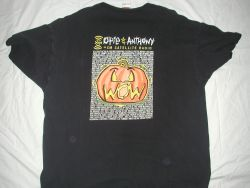 Opie and Anthony Classic 2005 Halloween Road Show XM Radio T-Shirt